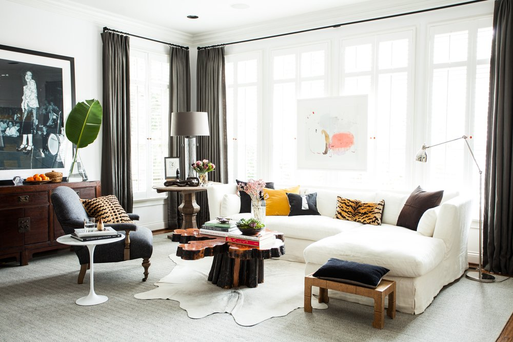 High Quality GET THE LOOK: SOPHISTICATED URBAN LIVING ROOM | Thou Swell Http://thouswell