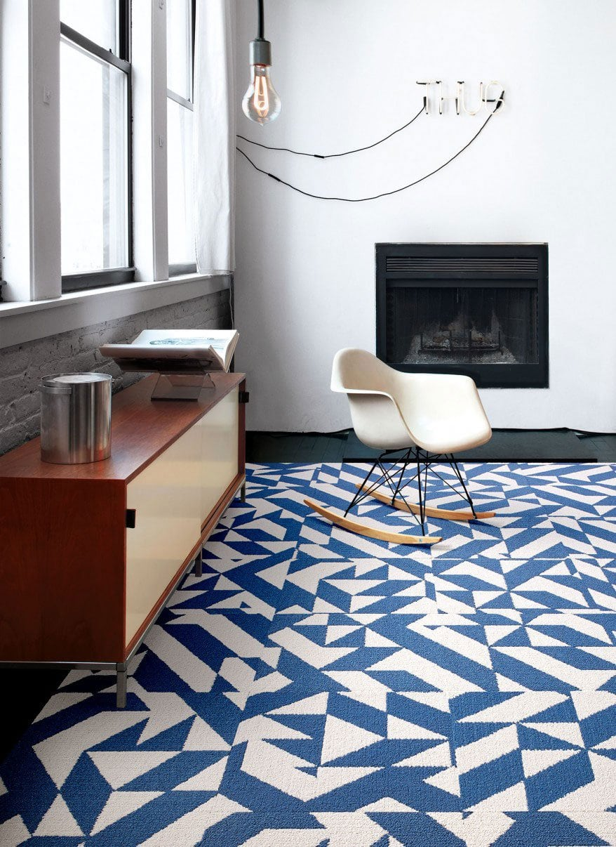 Flor design challenge in atlanta thou swell flor twisted spokes tiles on thou swell dailygadgetfo Images