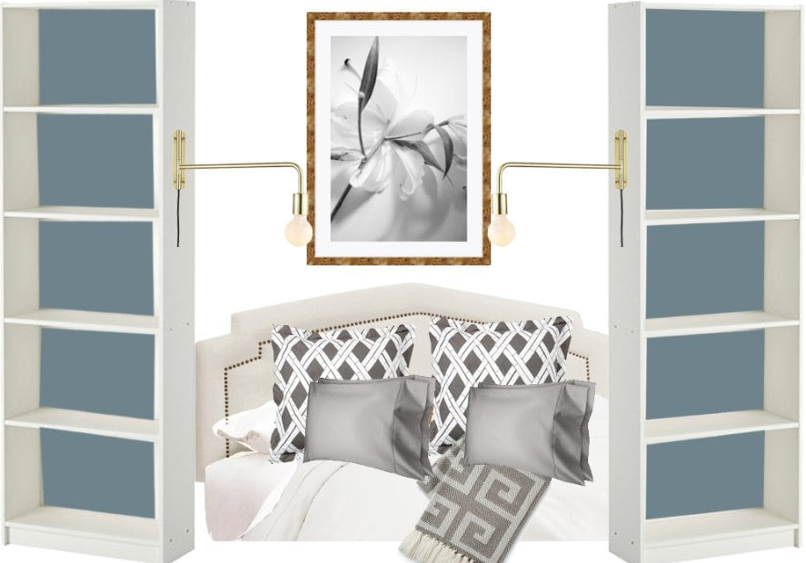 Bedroom before & after on @ThouSwellBlog