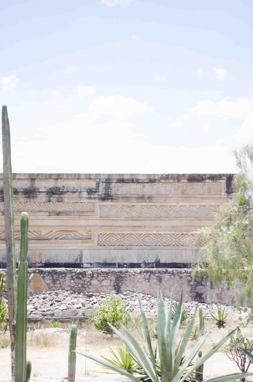Mitla in Oaxaca, Mexico