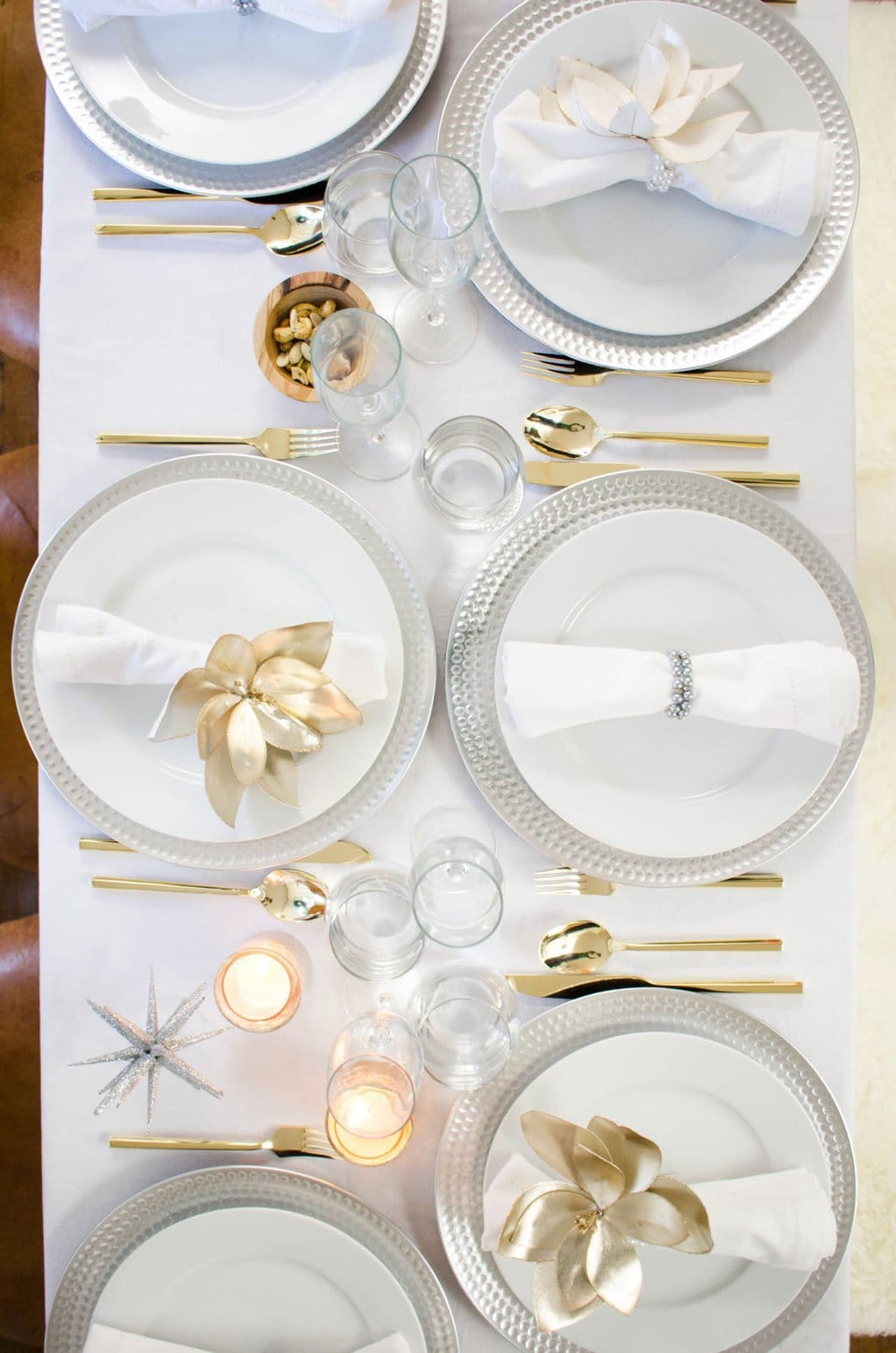 Two Takes: Unique Holiday Table Settings - Thou Swell