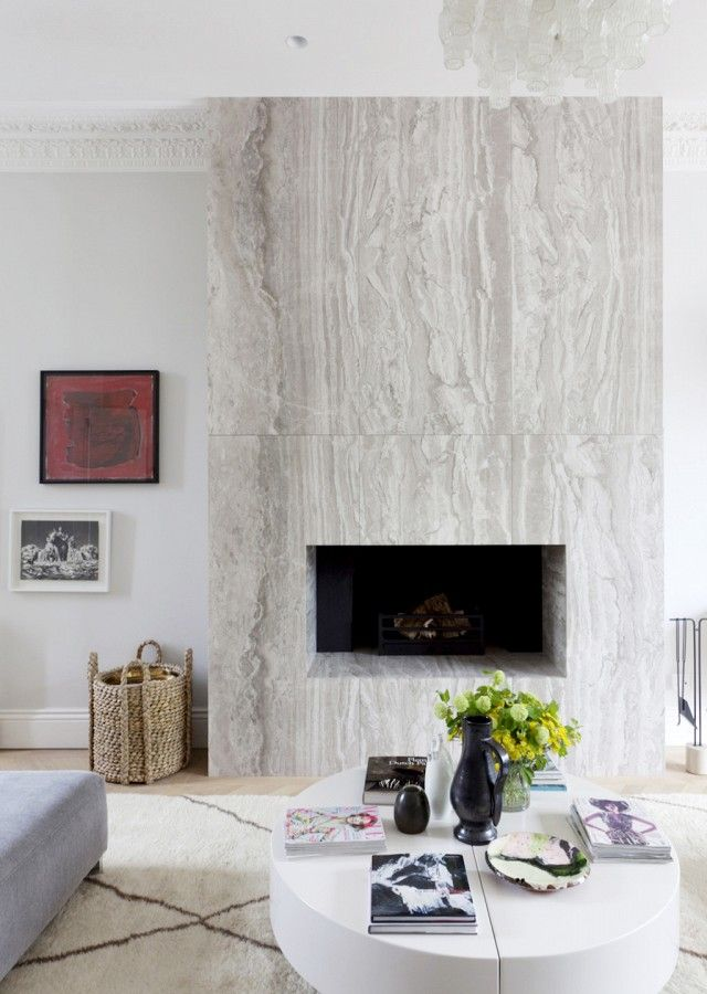 10 Stunning Stone Fireplace Mantels Thou Swell