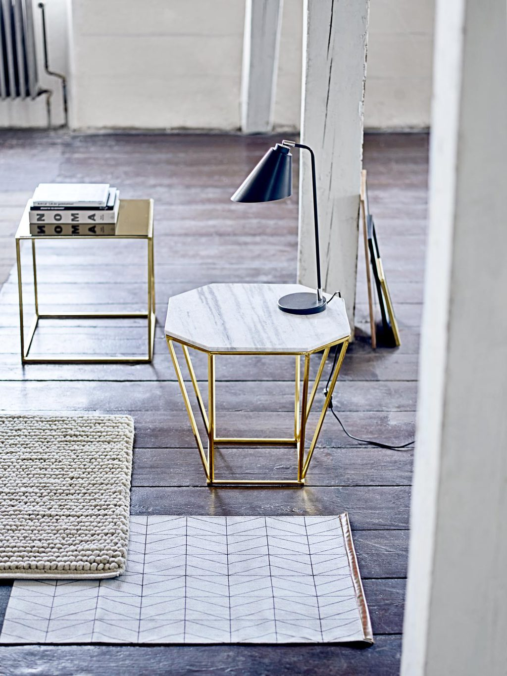 Bloomingville modern Nordic decor on @thouswellblog