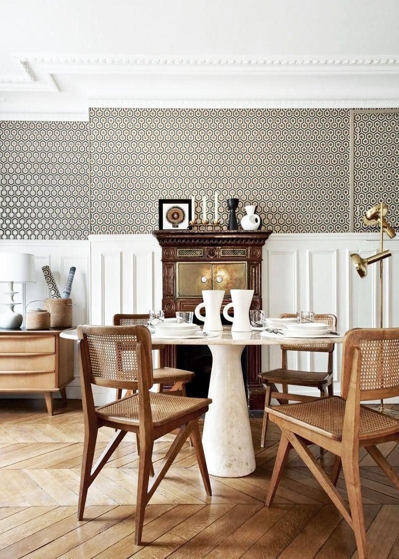 Superior Glamorous Parisian Dining Room On @thouswellblog