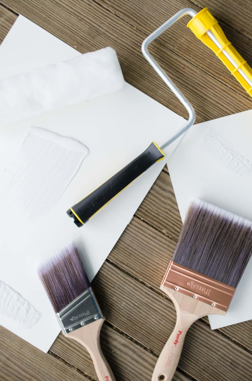 Purdy painting supplies for the One Room Challenge on @thouswellblog