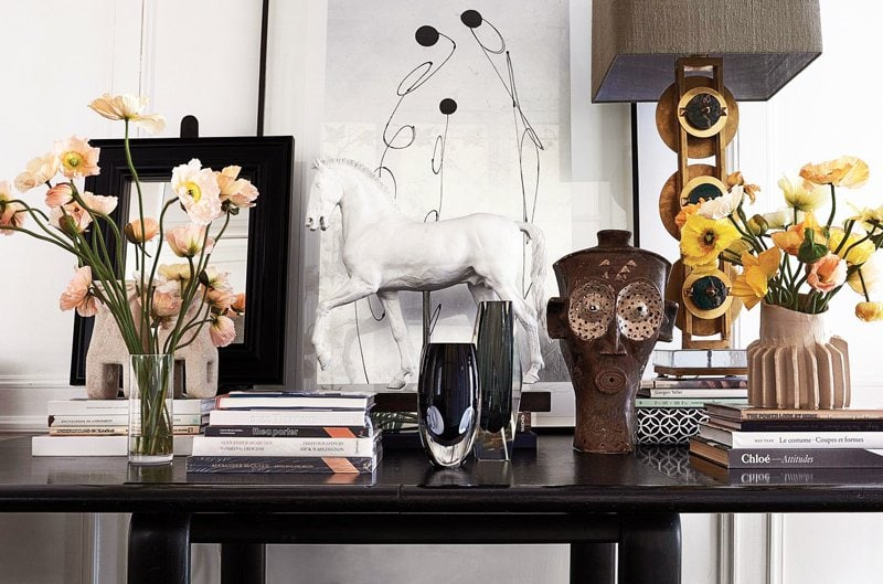 Console table styling on @thouswellblog