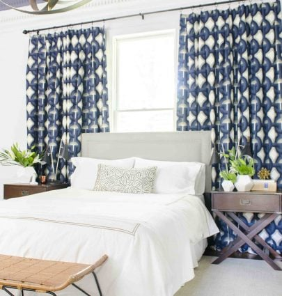 One Room Challenge master bedroom makeover reveal by Kevin Francis O'Gara