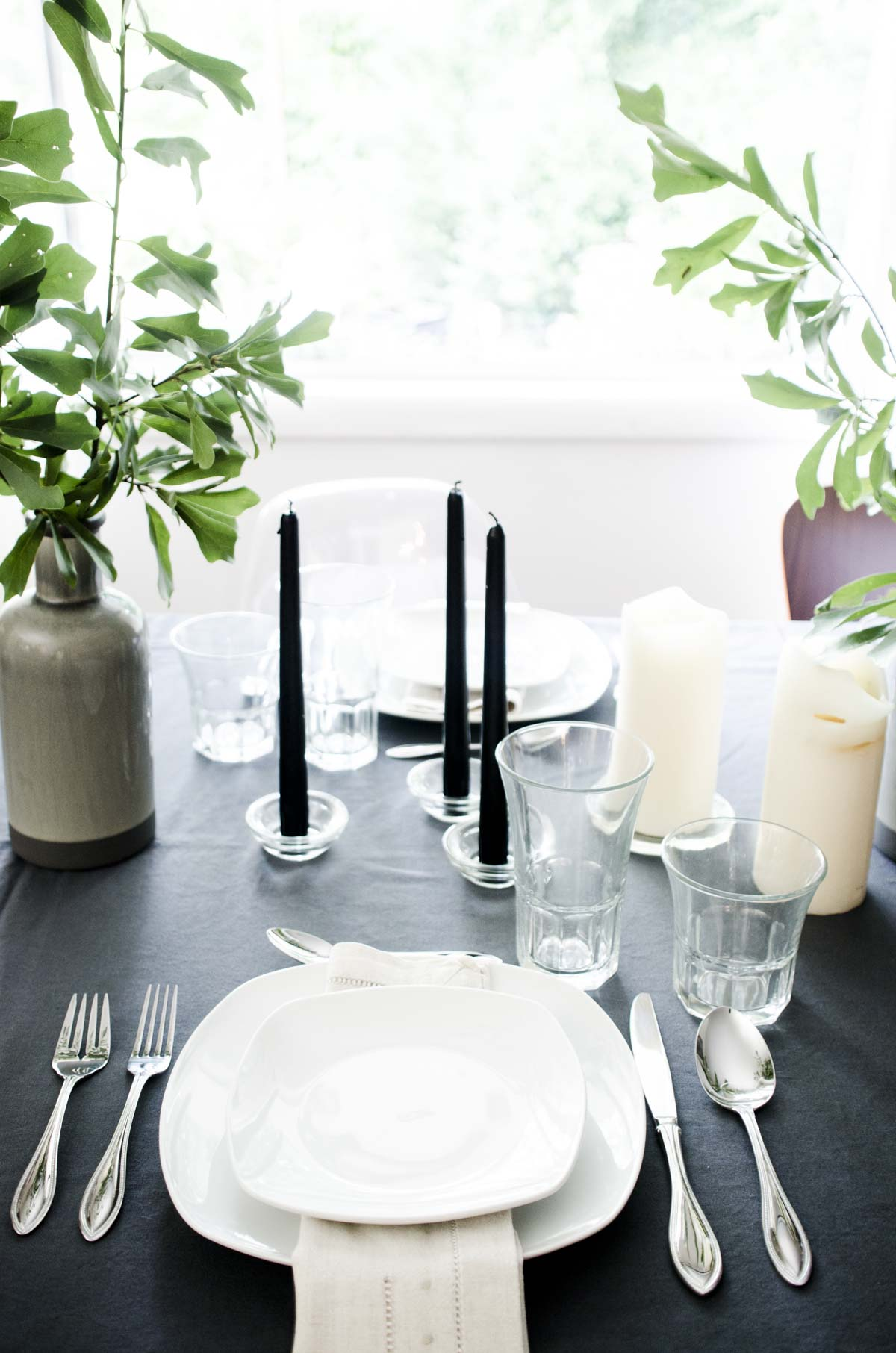 Scandinavian Inspired Summer Tablescape Thou Swell