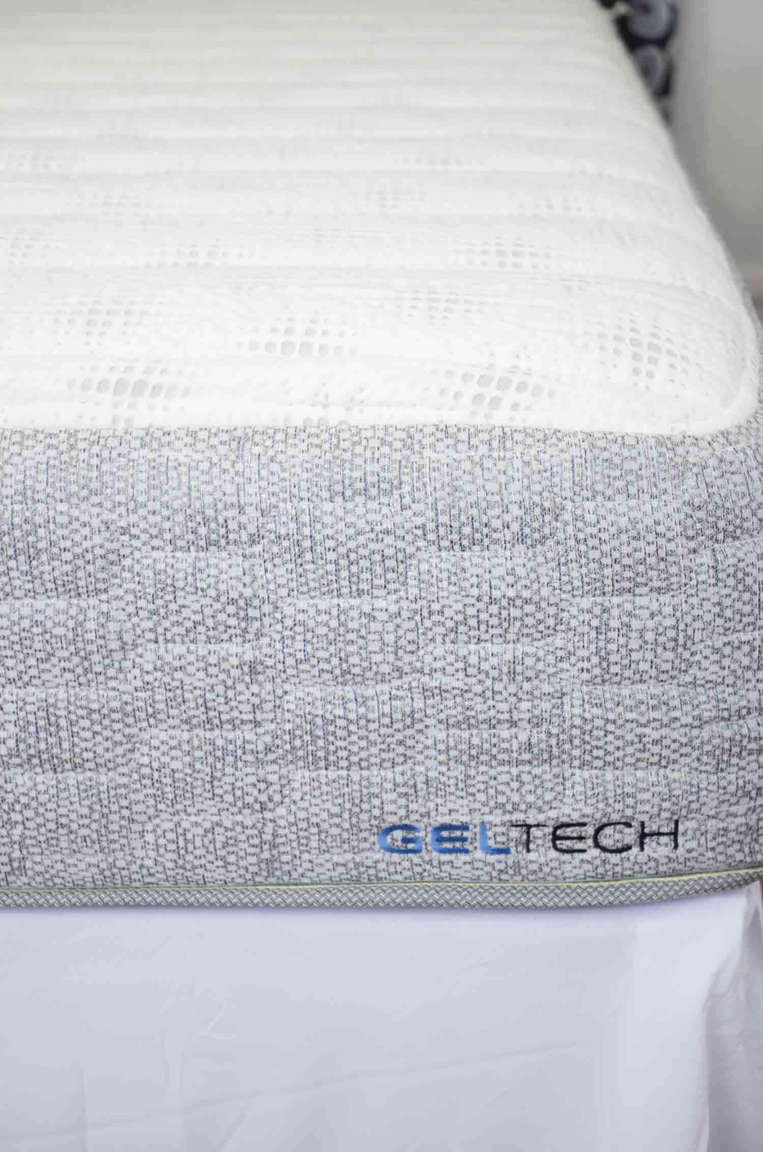 GelFoamBed Miranda queen mattress on @thouswellblog