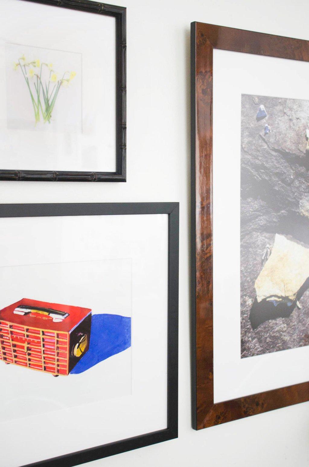 Jessica Brilli art with Framebridge on @thouswellblog
