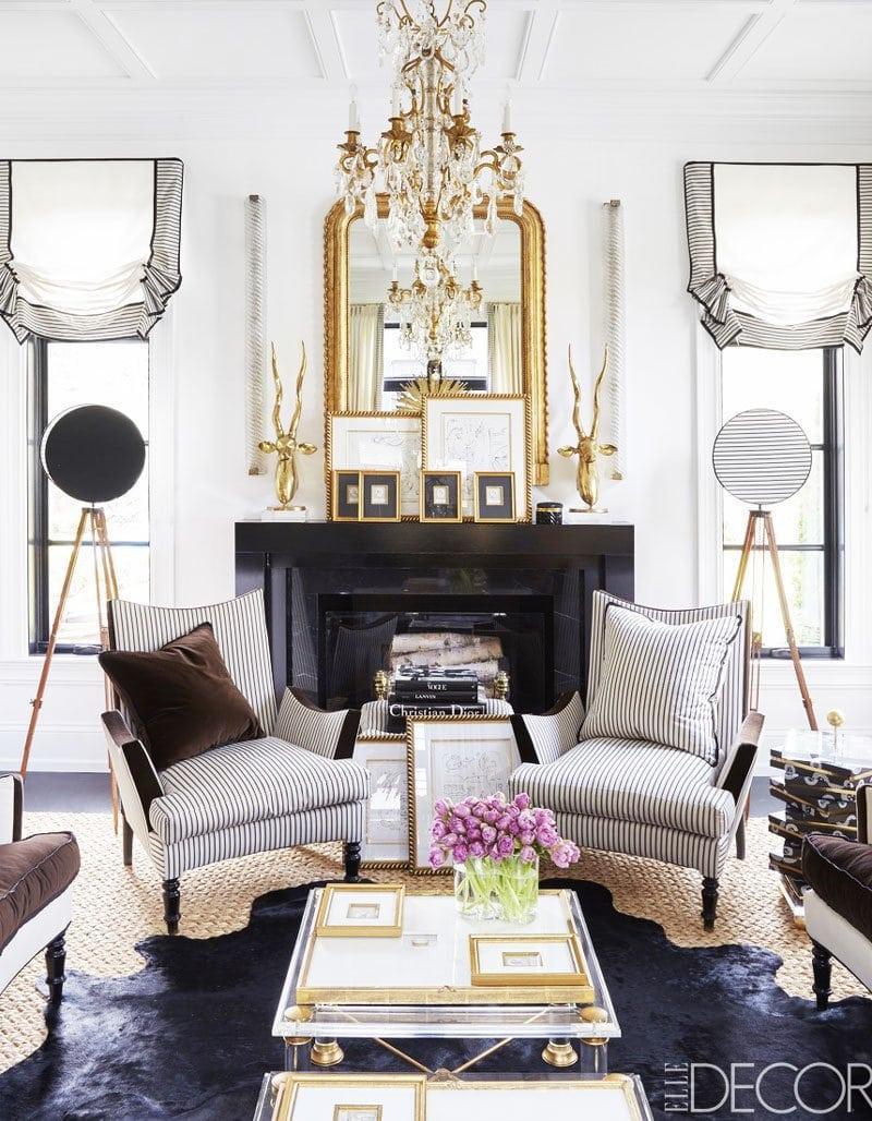 Swell Shopping: Black & White Living Room