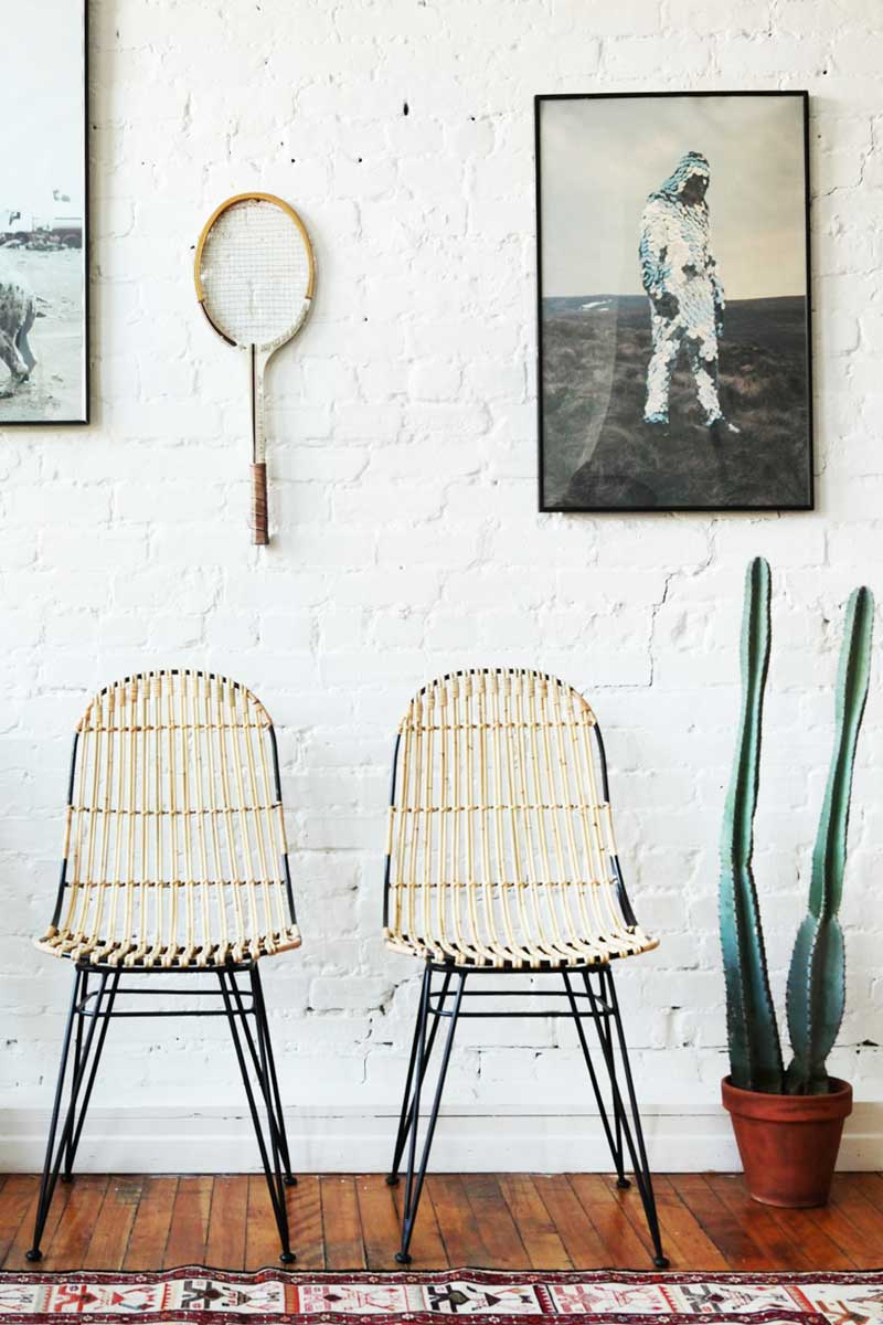 Enter to win a set of two rattan dining chairs from Furniture Maison on @thouswellblog