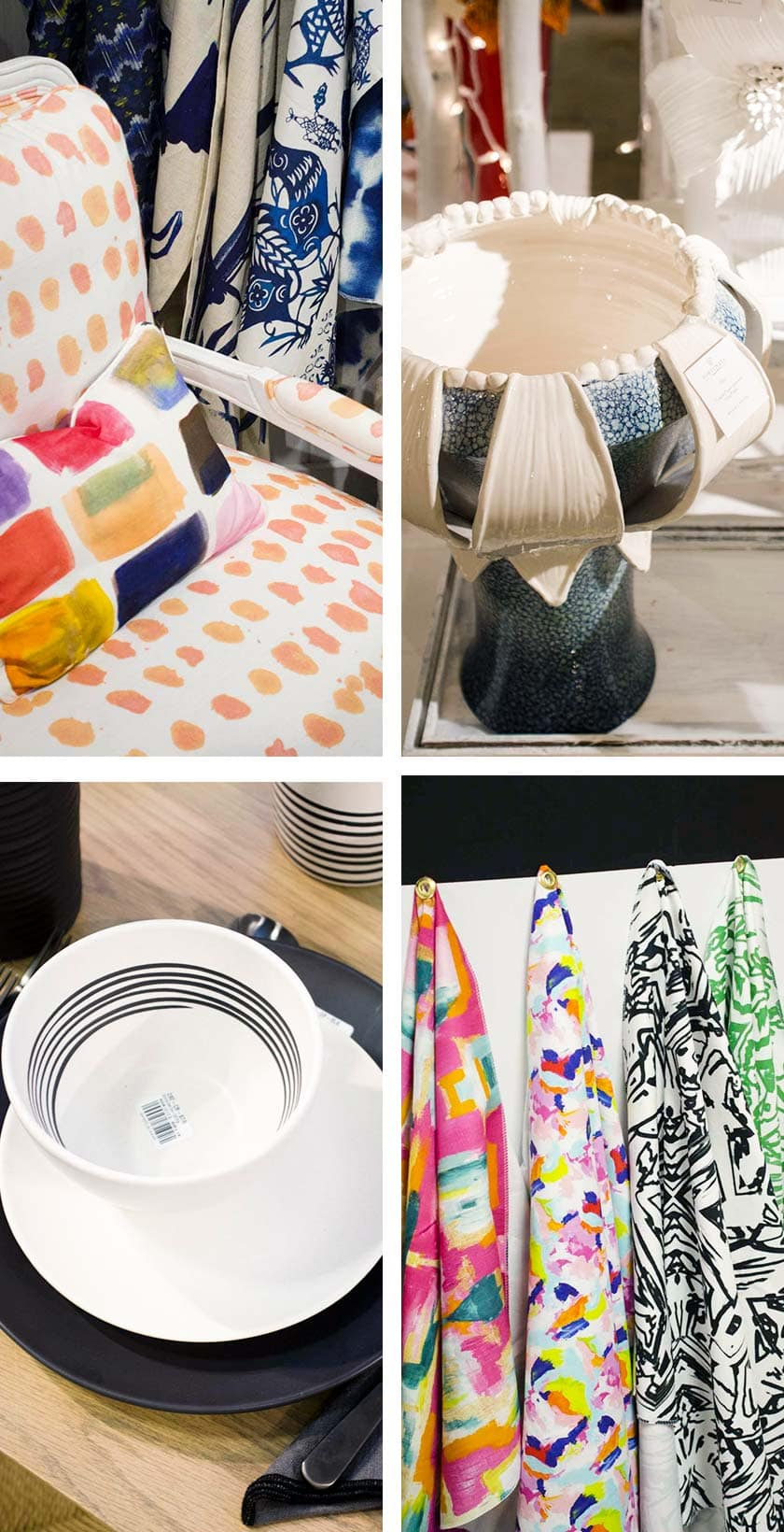 Brushstroke decor trend from AmericasMart on Thou Swell @thouswellblog