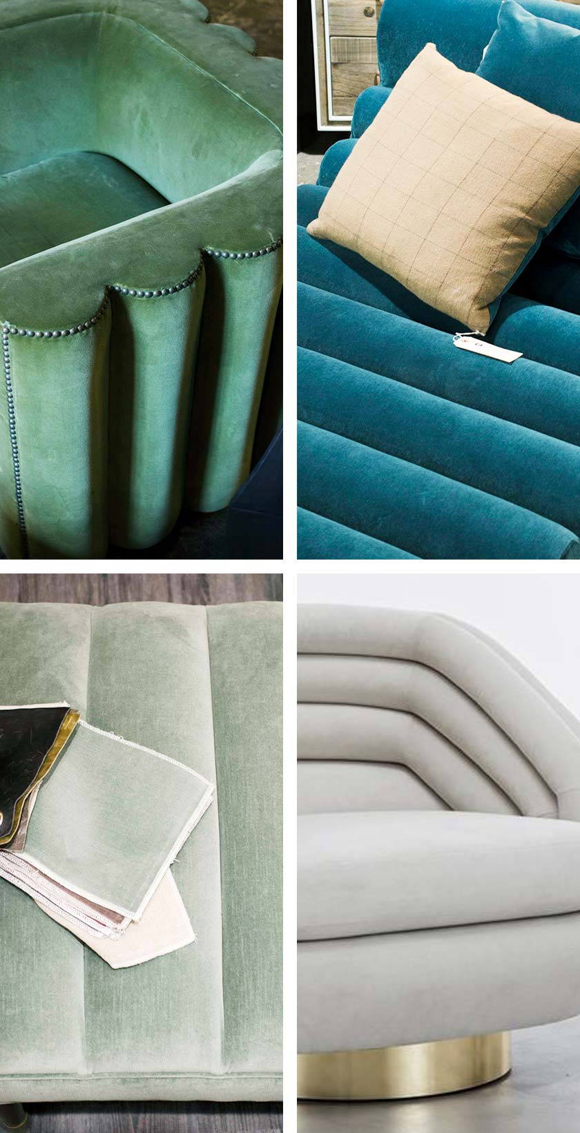 Channel tufting decor trend from AmericasMart on Thou Swell @thouswellblog