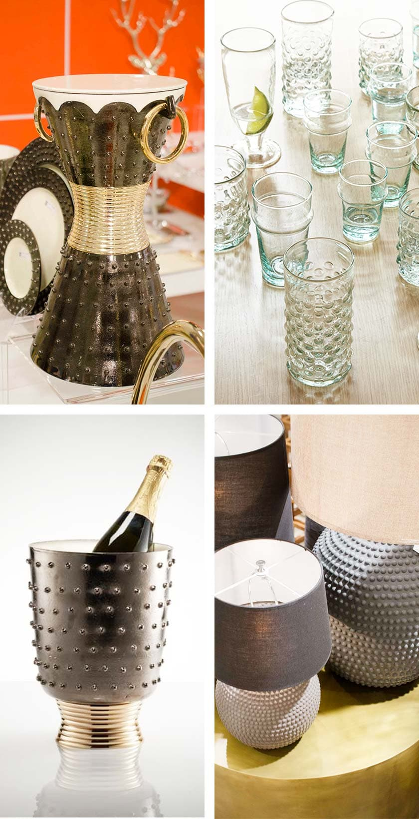 Hobnail design trend from AmericasMart on Thou Swell @thouswellblog