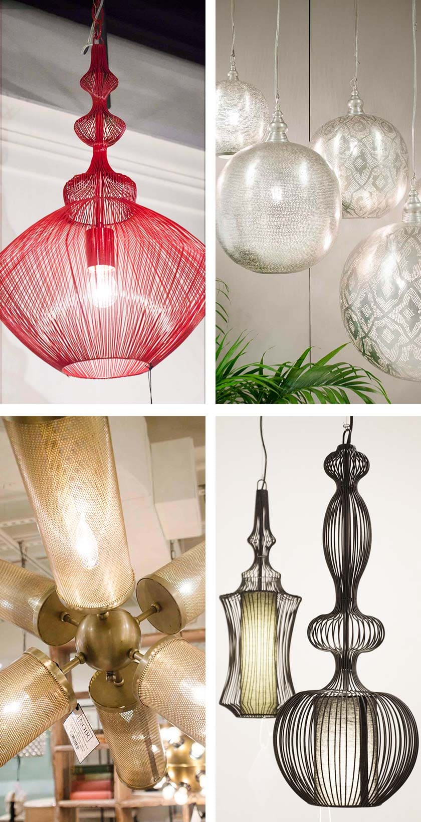 Pierced lighting design trend from AmericasMart on Thou Swell @thouswellblog