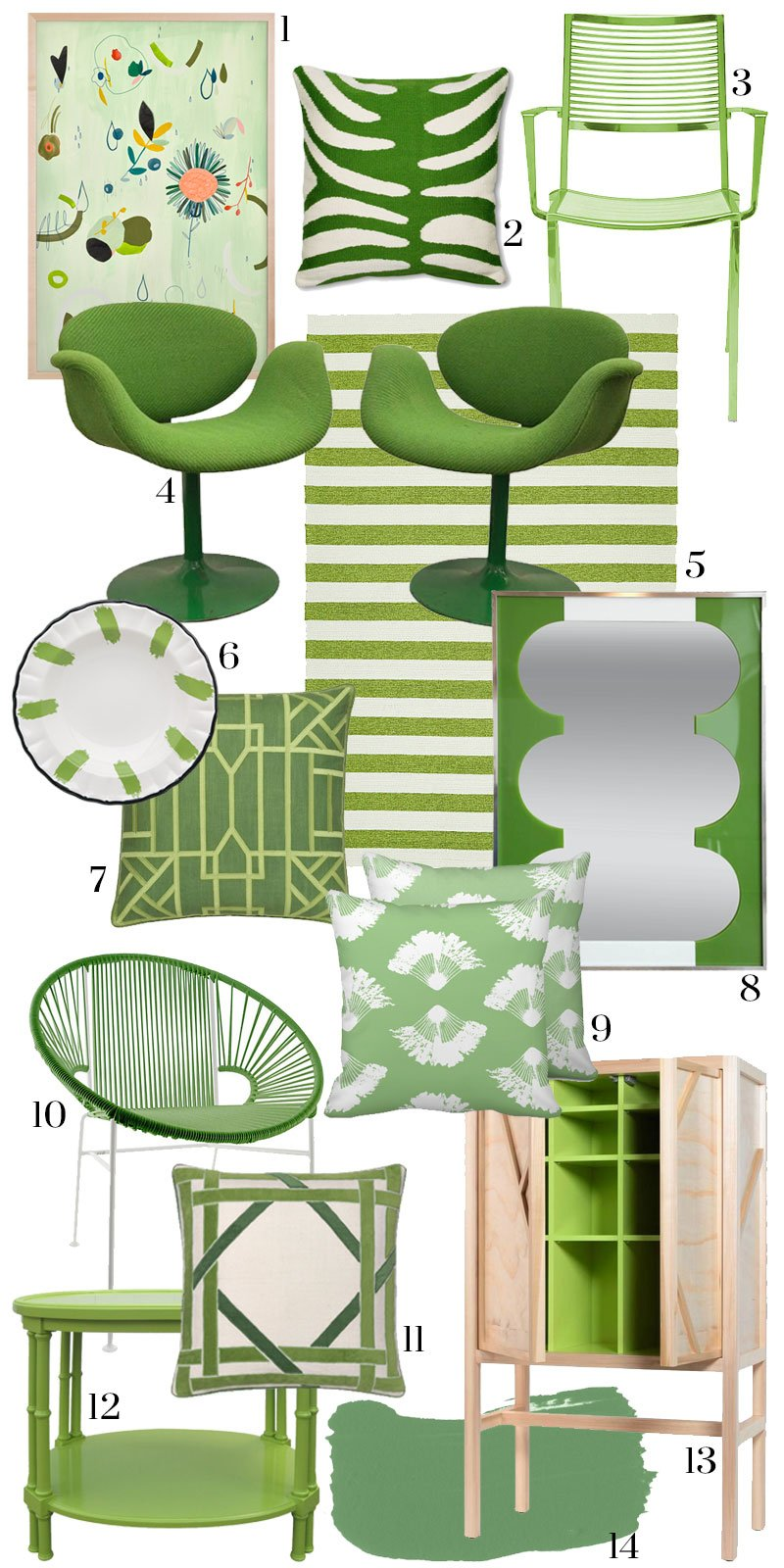 How To Use Pantone Greenery At Home Thou Swell