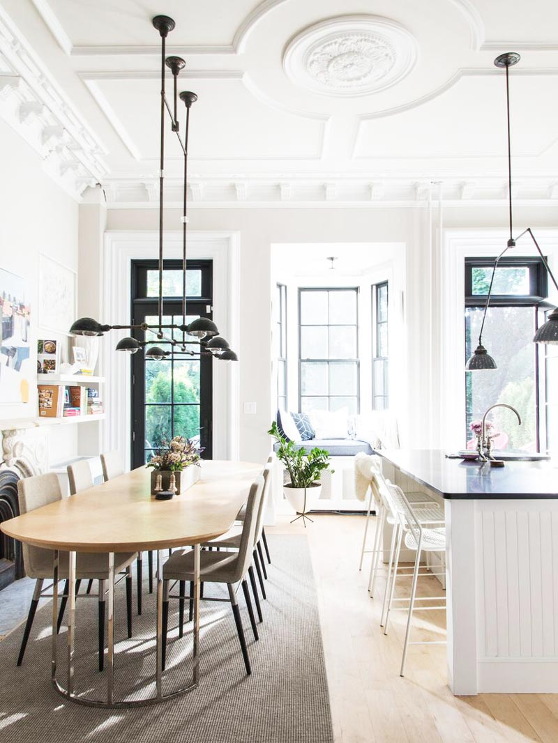 A Designer\'s Chic Townhouse Renovation - Thou Swell