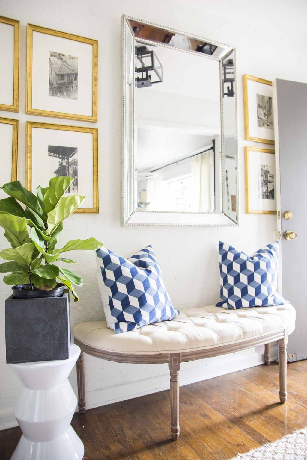 first impressions a new entryway design thou swell. Black Bedroom Furniture Sets. Home Design Ideas