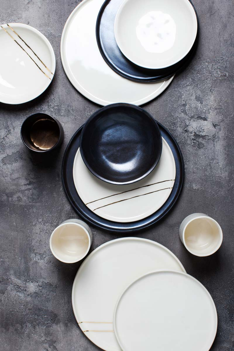 Honeycomb Studio tableware collection handmade in Atlanta GA on Thou Swell @thouswellblog & Honeycomb Studio\u0027s New Tableware Collection - Thou Swell
