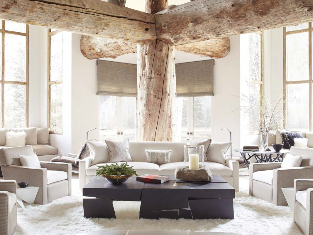 Modern Meets Rustic in an Aspen Home - Thou Swell