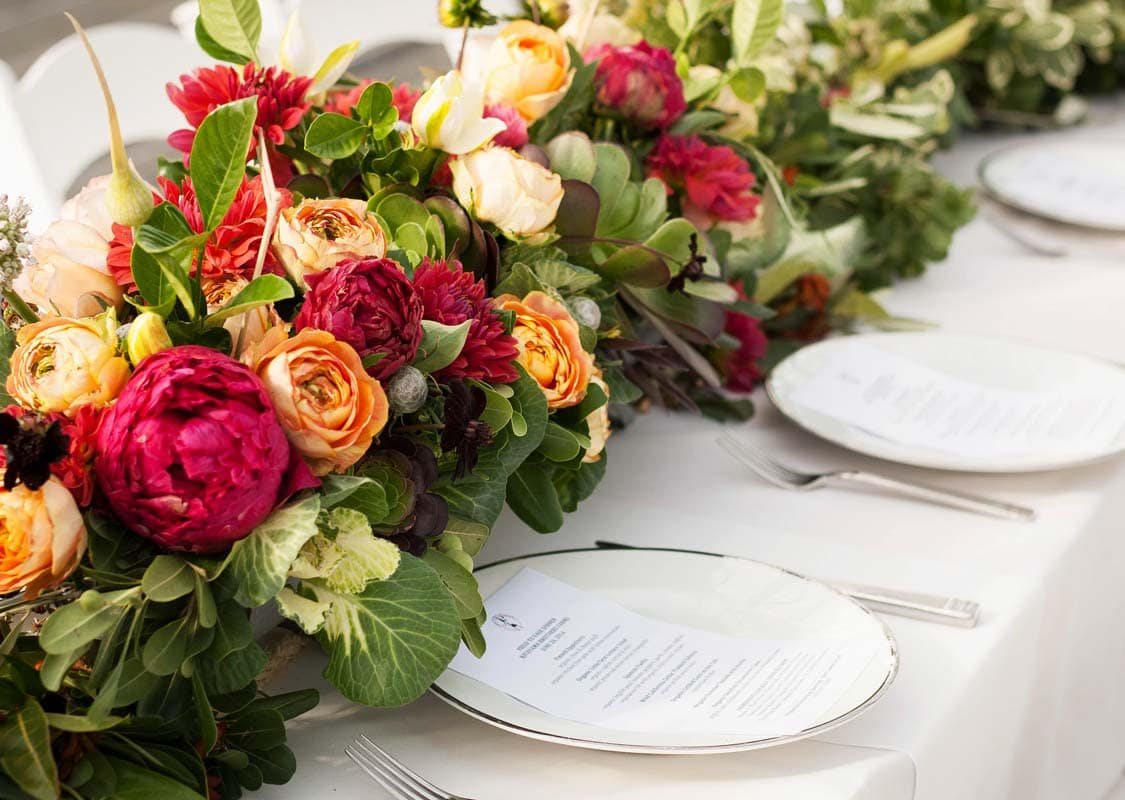 Field to Vase dinner party tour with American Grown Flowers on Thou Swell @thouswellblog
