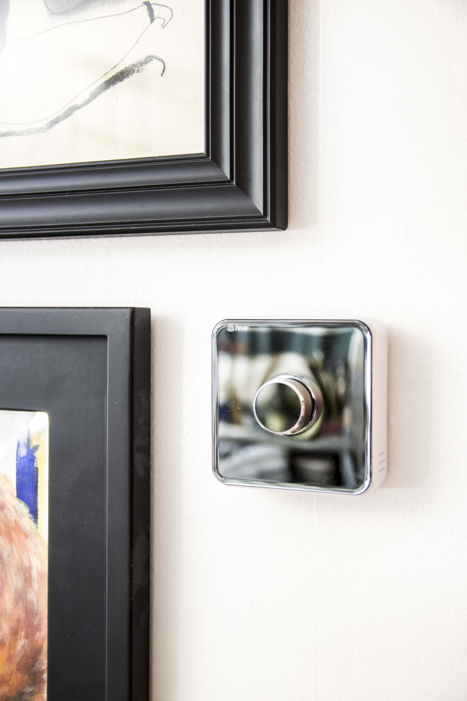 Hive smart thermostat on Thou Swell @thouswellblog