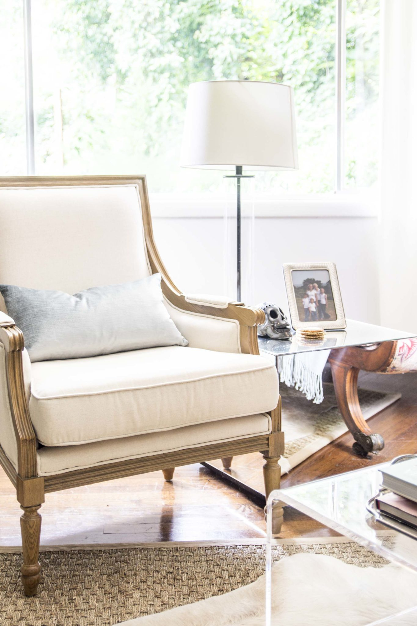 Our Summer Living Room Refresh - Thou Swell