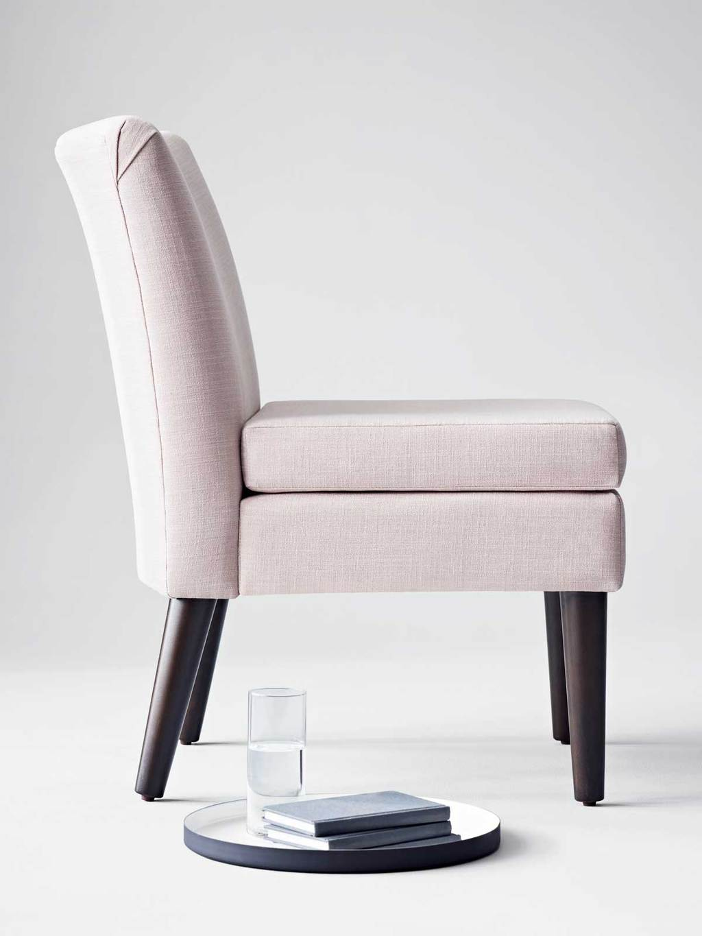 Blush slipper chair from Project 62 on Thou Swell @thouswellblog