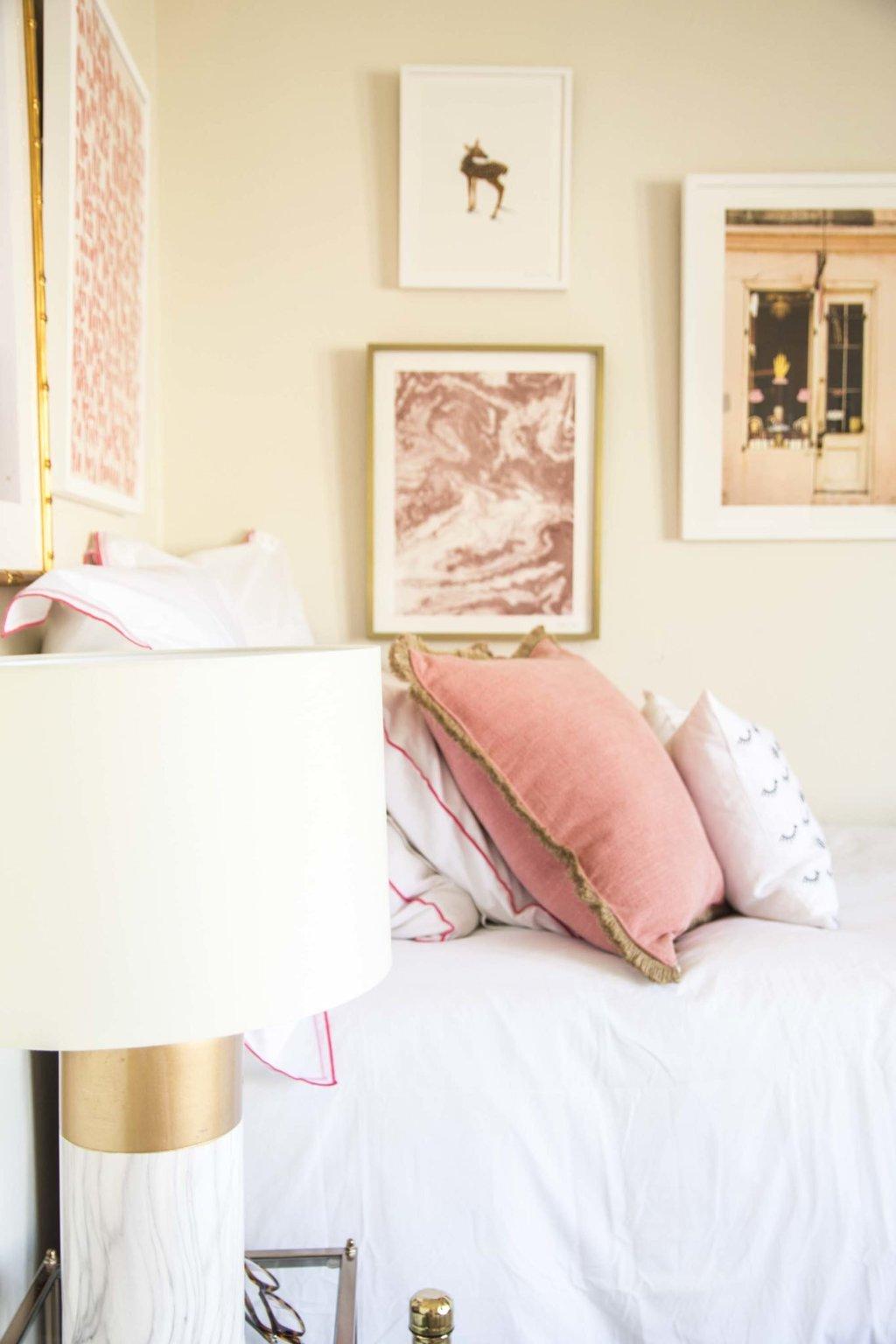 Olivia S Lush Blush Dorm Room Reveal Thou Swell