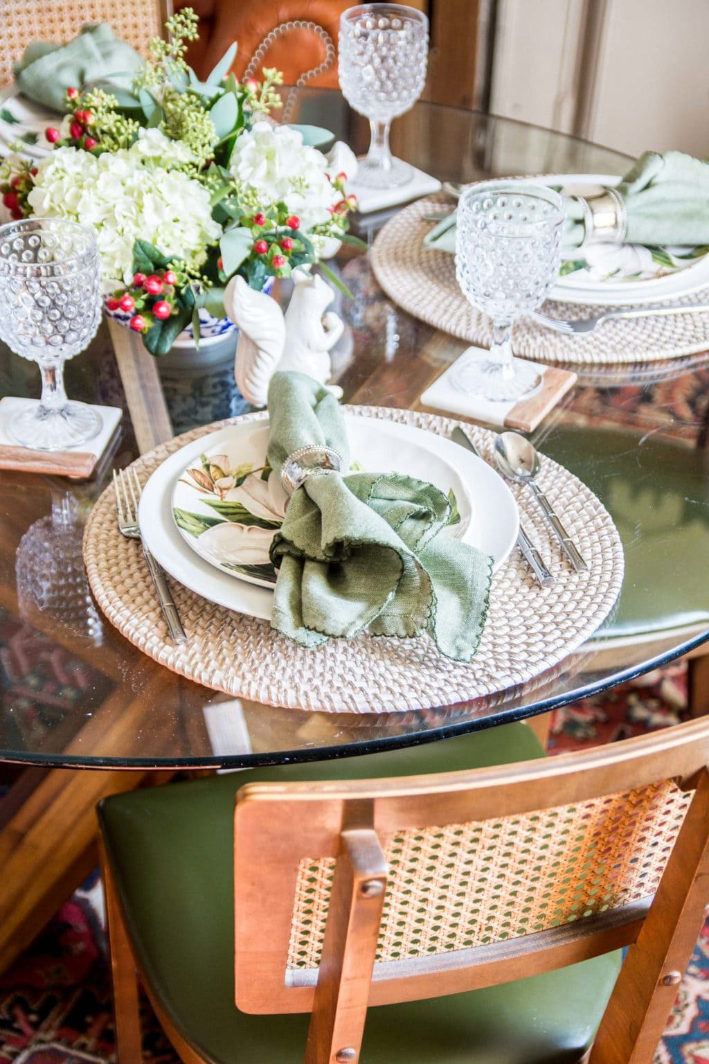 A southern inspired thanksgiving table thou swell