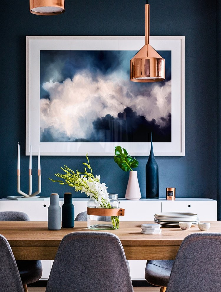 Tye Street Project Blue Dining Room Plans Thou Swell Best Blue Dining Room