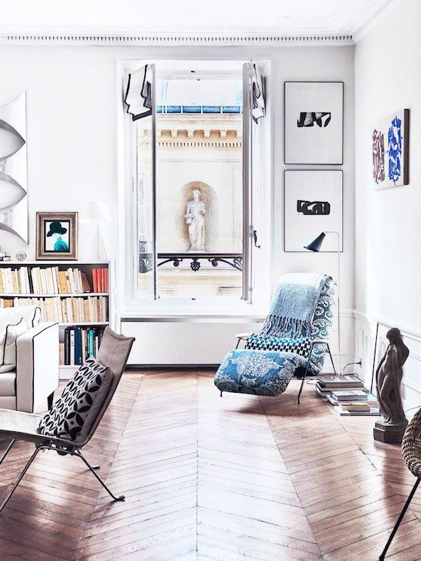 Historic Parisian apartment on Thou Swell @thouswellblog