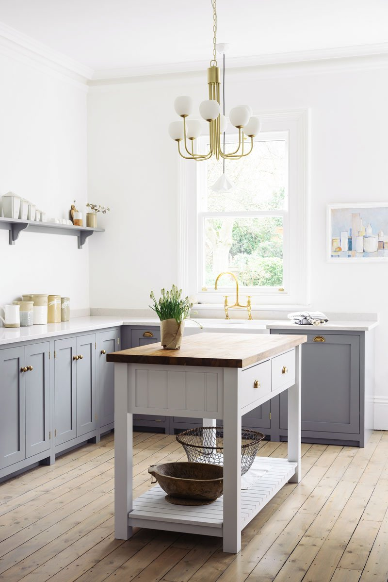What Is A Kitchen Island With Pictures: Stylish Freestanding Kitchen Islands & Carts
