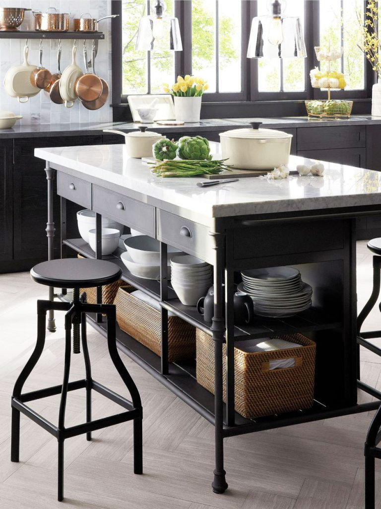 Freestanding Island Kitchen
