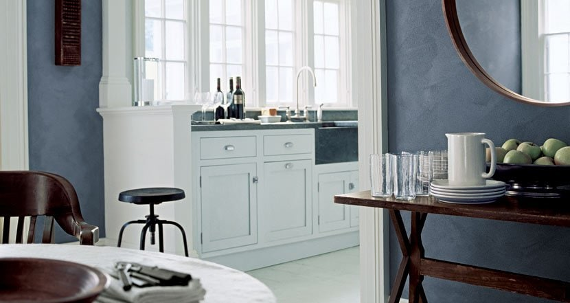 Ralph Lauren specialty paint finish in River Rock on Thou Swell @thouswellblog