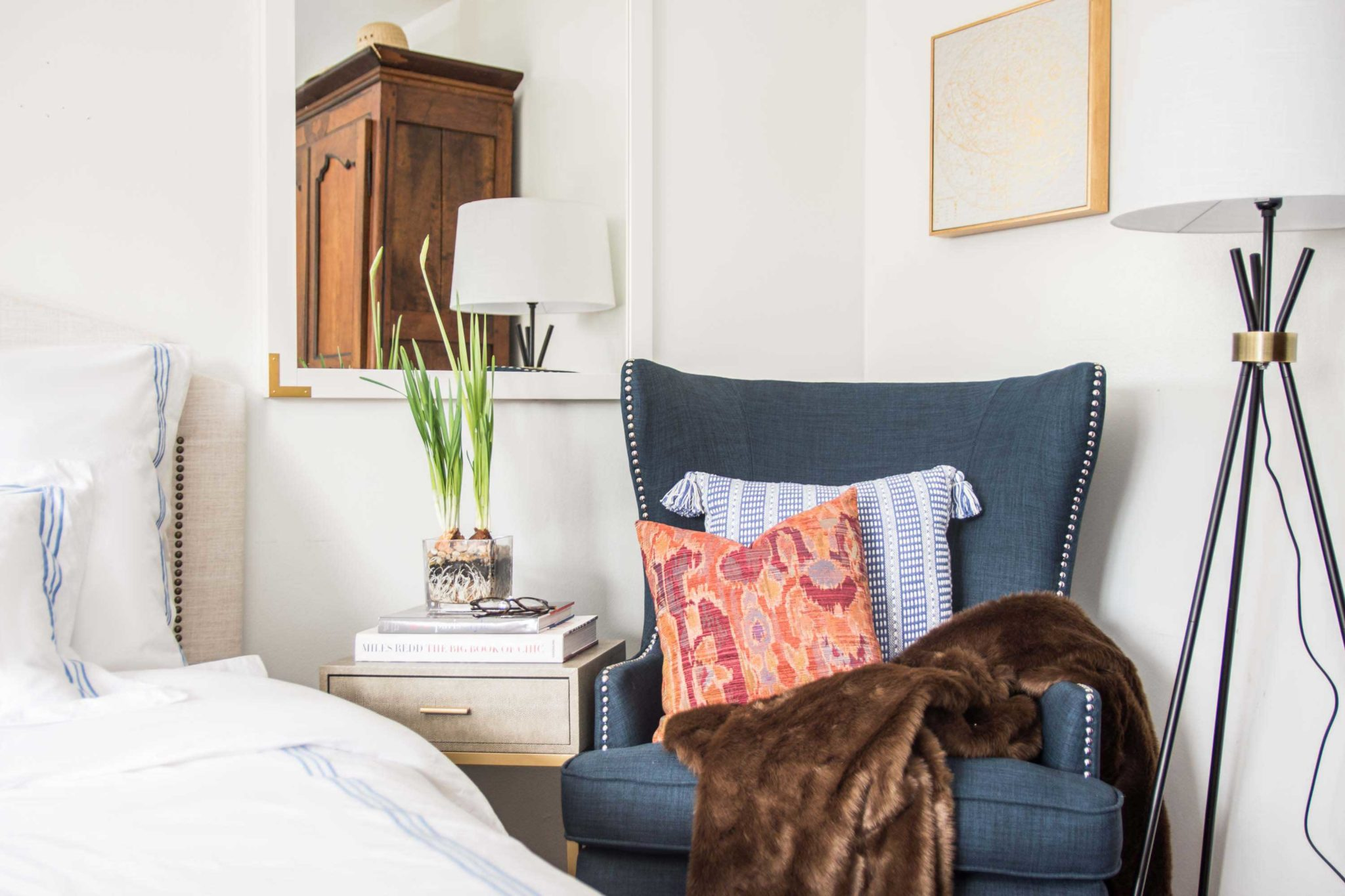 Why Your Bedroom Needs an Accent Chair - Thou Swell