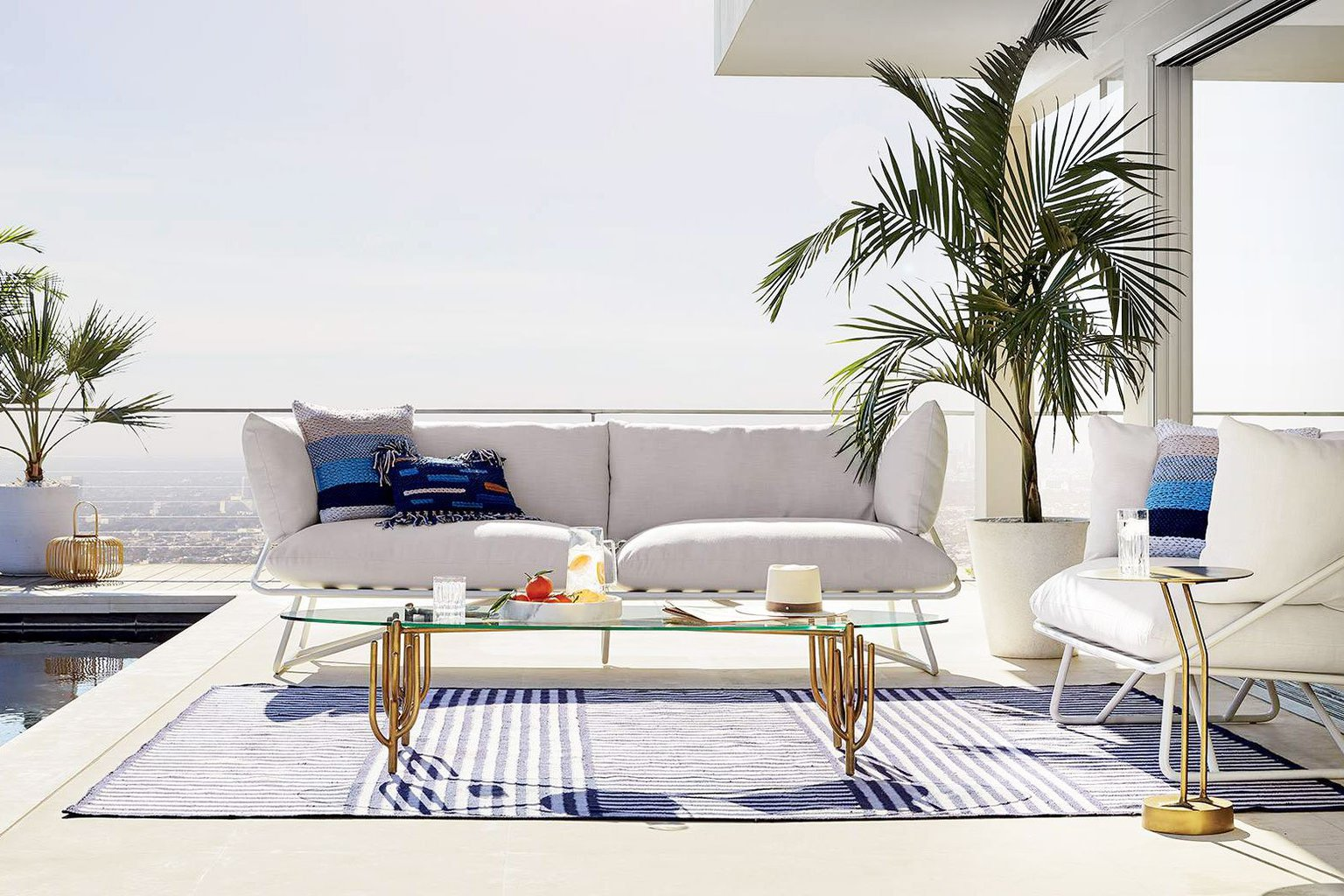 cb2 patio furniture. Poolside Modern Outdoor Furniture From CB2 X Fred Segal On Thou Swell @thouswellblog Cb2 Patio