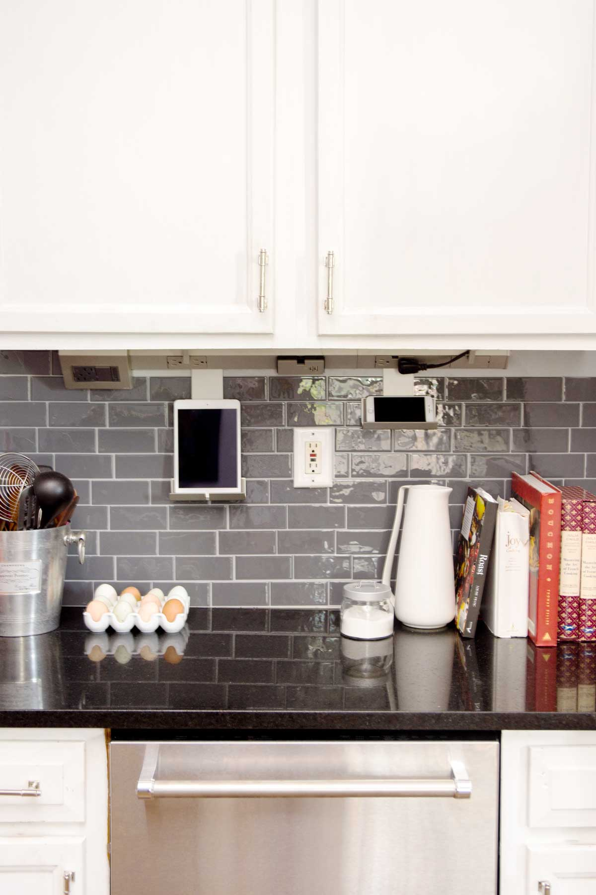 Under Cabinet Lighting And Power System By Legrand In Our Kitchen On Thou  Swell @