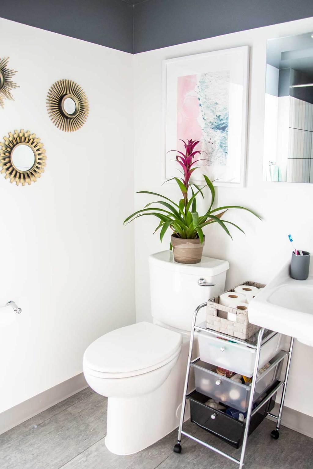 Updating & Organizing an Apartment Bathroom - Thou Swell on Apartment Bathroom  id=18023
