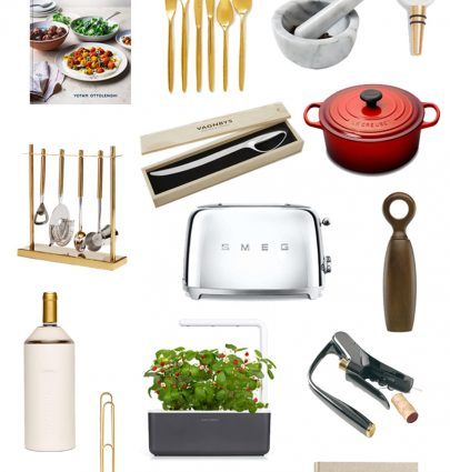 Cook gift ideas, chef gifts, kitchen essentials, cookware, gift guide on Thou Swell