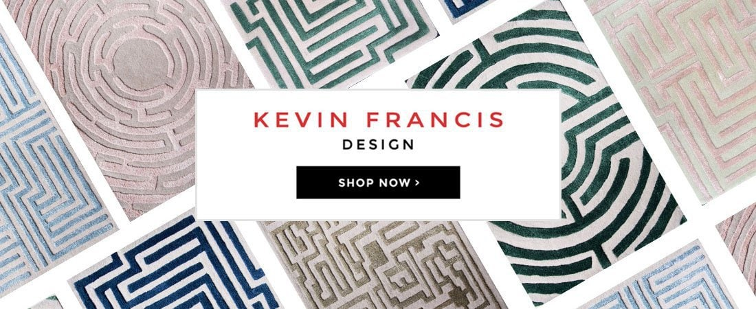 Kevin Francis Design, Maze Rugs, Labyrinth Rugs, Tufted Rugs, Wool Rugs