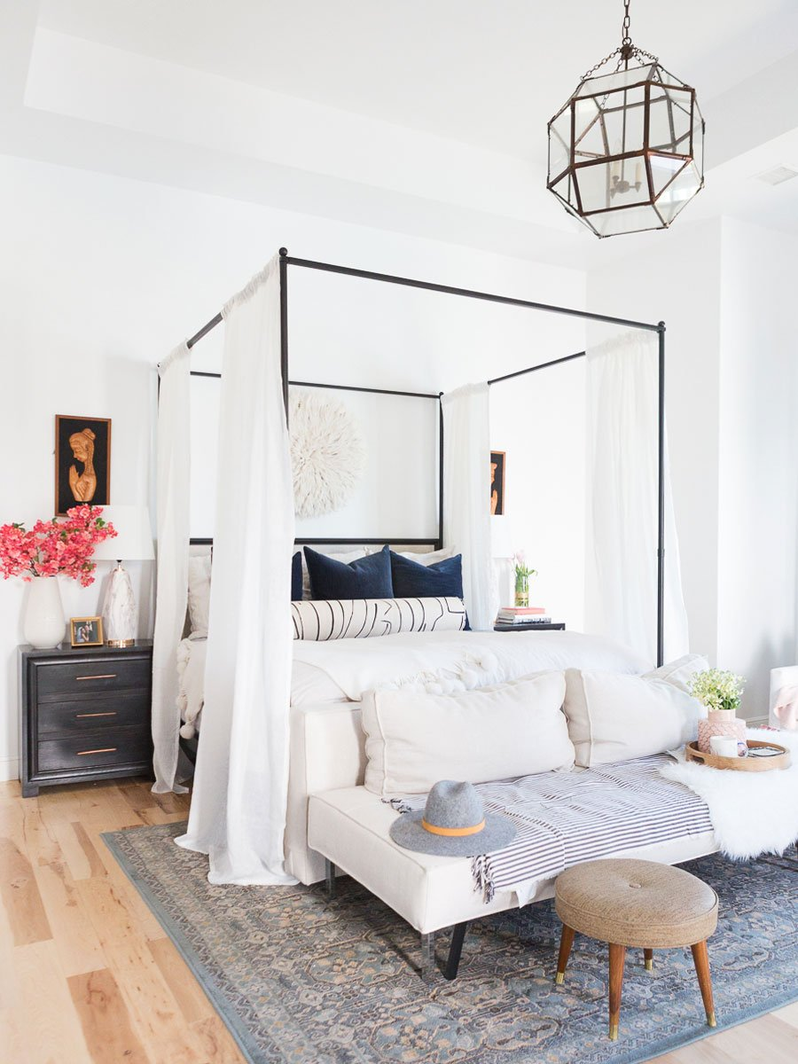 Swell Shopping: Bright & Layered Master Bedroom - Thou Swell