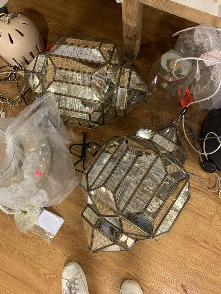 Anthropologie outlet in Augusta, GA lantern pendant lights on Thou Swell