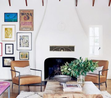 A colorful family home in Austin, Texas full of punchy home decor ideas on Thou Swell #hometour #homedesign #interiordesign #colorfuldecor #colorfuldesign #texashome #austintexas #homedecor #homedecorideas #color #design #interiors