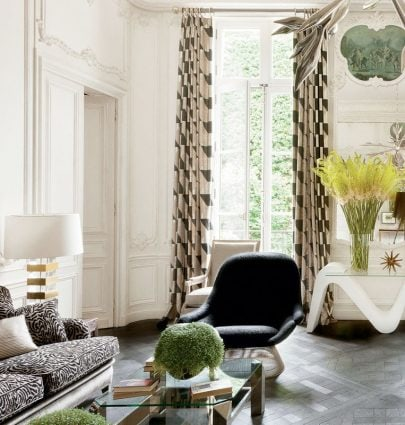 Lauren Santo Domingo's Paris apartment with classic French style and interior design on Thou Swell