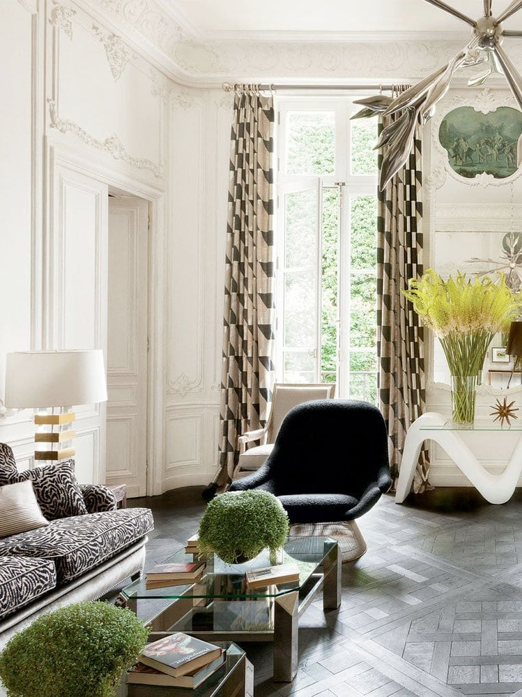 Lauren Santo Domingo's Paris apartment with classic French interior design on Thou Swell
