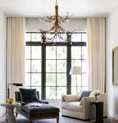 Houston home tour full of warm textures by Marie Flanigan, modern Houston house, sitting area on Thou Swell #homedecor #homedesign #interiordesign #interiordecor #homedecorideas